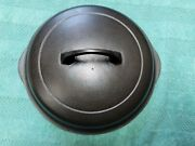 Griswold Self Basting Lid Only Cast Iron 6 1096 Logo Inside Lid Excellent Cond.