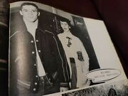 Jim Taylor Senior High School Yearbook 1954 Nfl Hall Of Fame