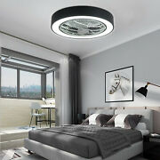 Black Round Ceiling Fan Light Chandeliers And Ceiling Fan Fixtures 3 Blades Usa