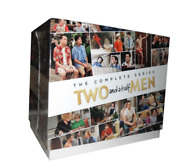 Two And A Half Men The Complete Series Seasons 1 - 12 Dvd Box Set !