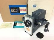 Elmo S-30 Slide Projector Showa Retro Machine Operation Check From Japan