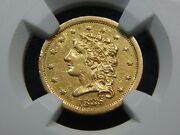 1838 2.50 Gold Classic Head Quarter Eagle Xf-45 Ngc, Better Date