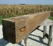 Reclaimed Barn Beam Wood Shelf, Architectural Salvage Fireplace Mantel A21,