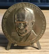 Commemorating The General Dwight D Eisenhower Silver Dollar 1971