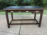 Vintage Industrial Hudson Drawing Table Architectural Drafting Table Keuffel Co.