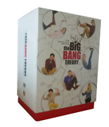 The Big Bang Theory Complete Series Seasons 1-12 Dvd Disc Box Set With Booklet