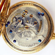 Hamilton 933 16j 18s Rare Low Serial 1095 First Year Production Pocket Watch