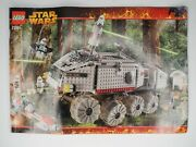 Lego Star Wars 7261 Clone Turbo Tank Instruction Manual Only