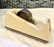 Vintage Heavy-duty Scotch 3m C-25 Weighted Tape Dispenser Model 28000 Unused