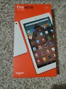 Fire Hd 10 Tablet 10.1 1080p Full Hd Display, 32 Gb – White W/ Screen Protector