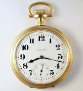 Illinois Wilson Bros King Of The Road 23 Jewel 16s Extremely Rare Pocket Watch