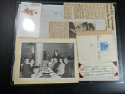 Ww2 Wwii Royal Canadian Air Force Womenand039s Division Rcaf Wd Paper Work Lot