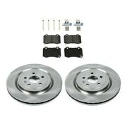Brake Disc And Pad Kit Rear Driver And Passenger Side New For Chevy Lh Rh Camaro