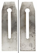 Orig. Blade For 2 3/8 Siegley Sss Plane - Later Type No. 6/7- Mjdtoolparts