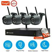 Sdeter 8ch 3mp Ip Al Wireless Cctv Security Camera System 1080p Nvr Wifi Outdoor