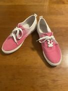 J.crew Legend Sneakers Pink And White Ombré Women's Shoes Size 12