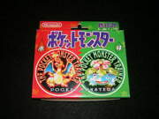 Inventory Last Nintendo Pokandeacutemon Playing Cards Red Green Set Things At The Time