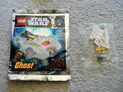Lego Star Wars Rebels - Rare - Ghost 911720 And Phantom From 75184 - New And Sealed