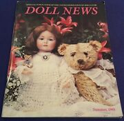 Summer 1995 Doll News Magazine By Federation Of Doll Clubs Nice