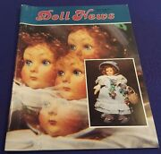 Fall 1986 Doll News Magazine By Federation Of Doll Clubs Nice
