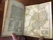 Tanner's American Traveler 1841 United States Tourist Guide Book W/ 4 City Maps