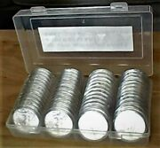 60 2019 Silver Eagle Dollars - In Holders - Free Shipping W/ins. - Uncirculated