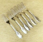 Antique Christofle Cutlery Set Large Table Forks Delafosse Empire Silver Plated