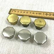 Vintage Metal Drawer Pull Handles Mixed Silver Gold Art Deco Reclaimed Salvaged