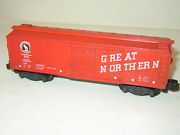 Rare American Flyer 24047 Great Northern Gn Red Box Car 1959