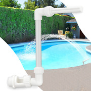 Water-fountain Swimming-pool Sprinkle Accessories Waterfall Above In-ground Pool