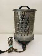 Antique 1930s Wesix Electric Space Heater Rcs-1 1/4 115 Volts 1250 Watts Works