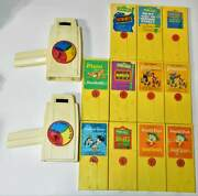 Vintage 1973 Fisher Price - Two 460 Movie Viewers And 11 Cartridges, Disney,