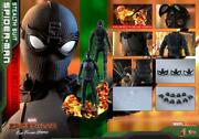 Hot Toys Movie Masterpiece Spiderman Stealth Suit Deluxe Version