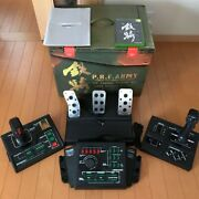 Xbox Tekki Steel Battalion Controller And Game Software Set Tv Video Game Used
