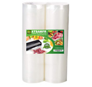 2 Pack 11''x50' Rolls Commercial Grade Food Saver Bags For Seal A Meal New