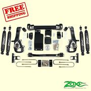 5 Front And Rear Suspension Lift Kit For Dodge Ram 1500 4wd 2002-2005 Zone