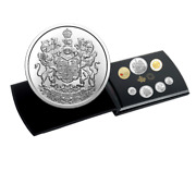 🇨🇦 Special Canada Gift Coin Set Silver Bullion And Colored Dollar 1 2021