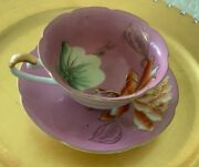Trimont Tea Cup Set Made In Occupied Japan Hand Painted Amazing