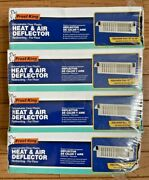 Brand New Pack Of 4 Frost King Hd7 Unbreakable Heat And Air Deflector 10 To 14