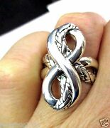 Sold Out New Hard To Find John Hardy Infinity Knot Ring Bold And Beautiful