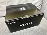 Canon Eos R6 Camera W/ Rf 35mm 1.8 Lens - 2 Batteries - Barely Used