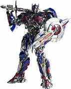 Transformers The Last Knight Optimus Prime Non-scale Abs And Pvc And Pom...
