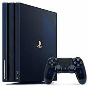 Playstation 4 Pro 500 Million Limited Edition [manufacturer Discontinued No.195