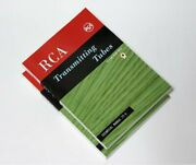 Rca Receiving Vacuum Tube And Transmitting Tubes Technical Manual Book 4 Vintage