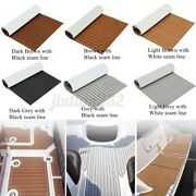 94and039and039 106and039and039 6mm Eva Foam Boat Flooring Sheet Teak Decking Marine Carpet Yacht Mat