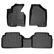 Floor Mats Black 1st/2nd Row Liners For Tuscon 10-13 / Sportage 11-13