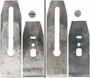 Orig. Type 11 Chip Breaker And Blade For Stanley No. 4 5 604 605 - Mjdtoolparts