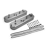 890014 Holley Valve Covers Set Of 2 New For Chevy Chevrolet Camaro Impala Pair