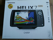 Humminbird Helix 7 Chirp Gps G3n Bluetooth Fish Finder W/ Protective Cover