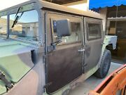 Amg Hummer H1 Humvee Set Of Custom Made Solid Steel Doors Front And Rear
